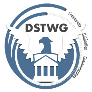 Logo for Data Stewardship Tactical Working Group (DSTWG)